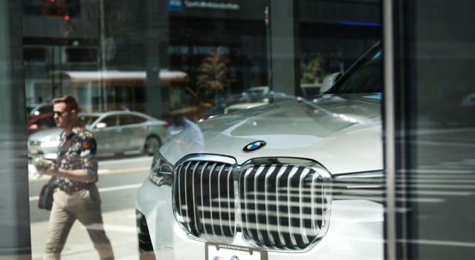 BMW отчита рекордни продажби