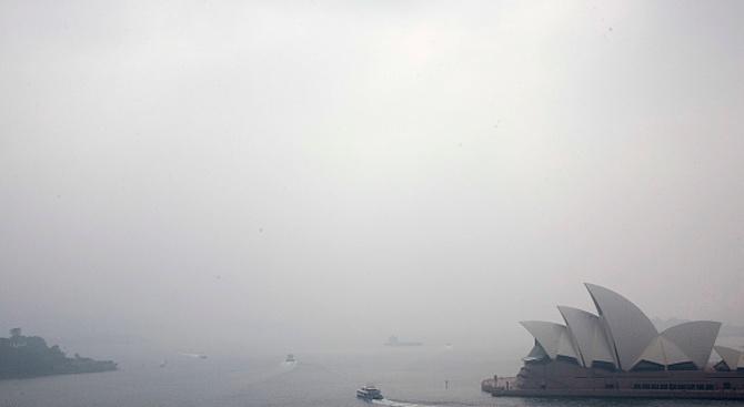 Въглеродните емисиите от пожарите в Австралия - почти колкото тези от Амазония