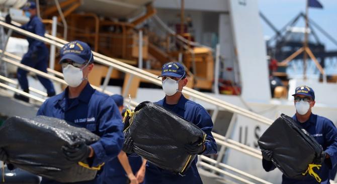 430 тона кокаин са заловени в Колумбия през 2019 г.