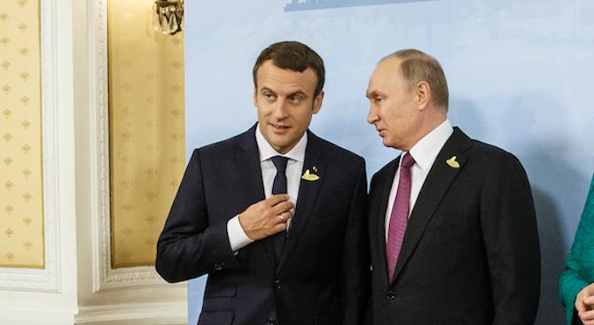 Путин обсъди с Макрон и Конте ситуацията в Либия
