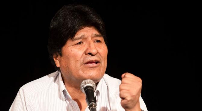 Ево Моралес иска да сформира въоръжени милиции, ако се върне в Боливия