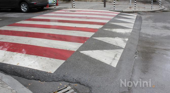 Издирват мъж, блъснал пешеходец в Русе