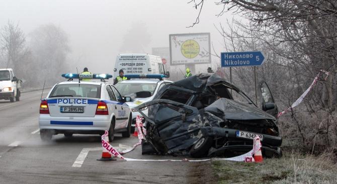 Майка загина при тежка катастрофа в Русенско, 4-годишният ѝ син е в критично състояние