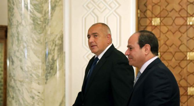 Борисов открива нова военна база в Египет с Ас-Сиси