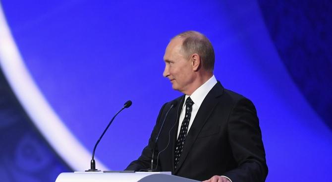 Владимир Путин: Русия не заплашва никого!