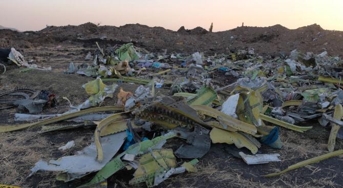 Киев поиска от Техеран да му предаде черните кутии на сваления украински самолет
