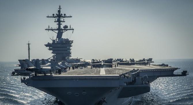 """Франция изпраща самолетоносача """"Шарл де Гол"""" в Близкия изток"""