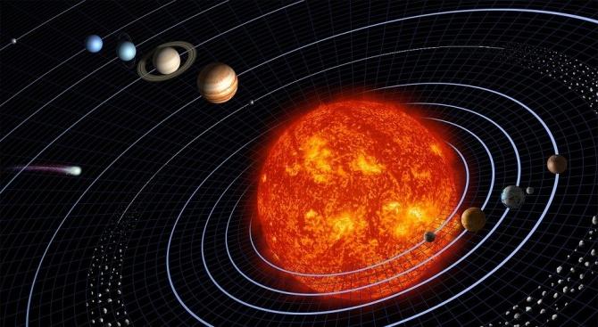Възможно е да съществува гигантска планета близо до Слънчевата система