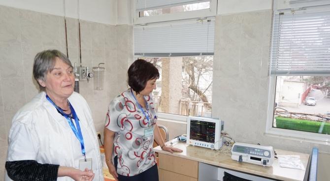 Нова апаратура ще помага за лечението на пациентите в Хасково