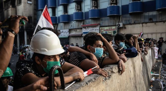 Нови протести в Багдад, нови жертви и ранени