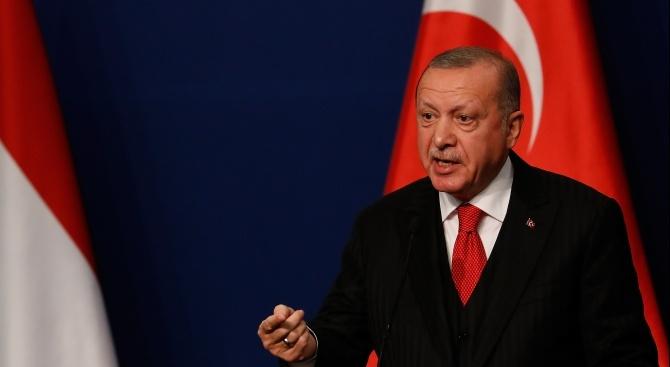 Реджеп Ердоган: Европа трябва да подкрепи либийското правителство в Триполи