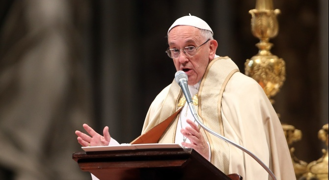 Папата изрази надежда конференцията в Берлин да доведе до мир в Либия