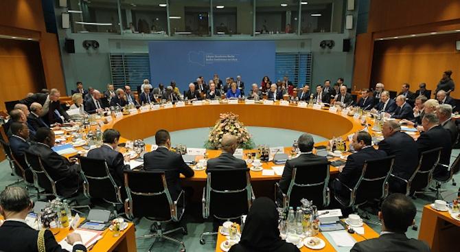 Започна конференциятя за Либия в Берлин