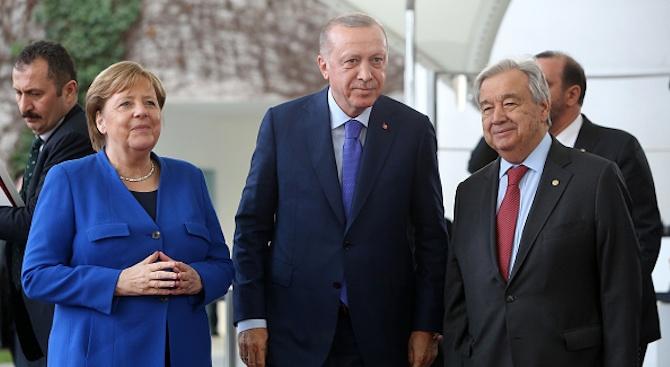 Помпейо и Ердоган са напуснали берлинската конференция за Либия