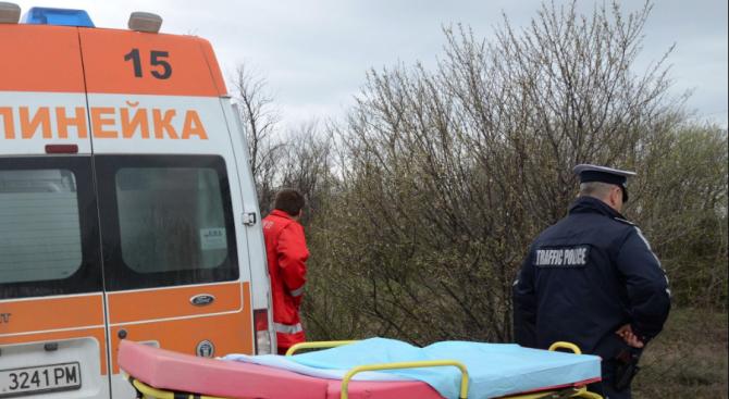 Катастрофа в Божурище вкара пътници в болница