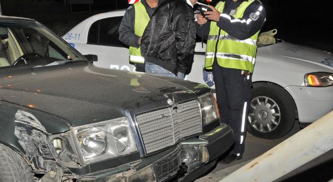 Пиян шофьор предизвика катастрофа и избяга