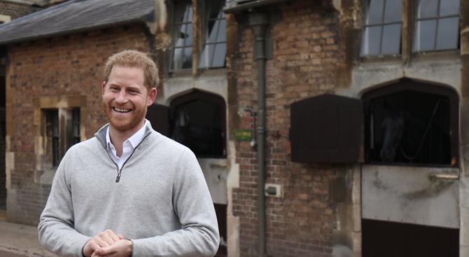Принц Хари отпътува за Канада
