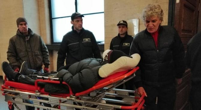 Герман Костин отново влезе на носилка в СГС. Нови адвокати го защитават