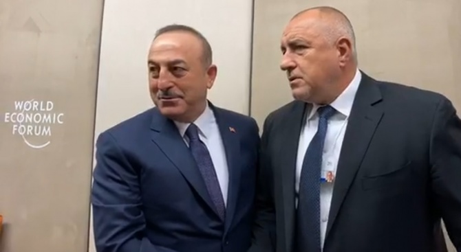 Топла среща между Борисов и Мевлют Чавушоглу