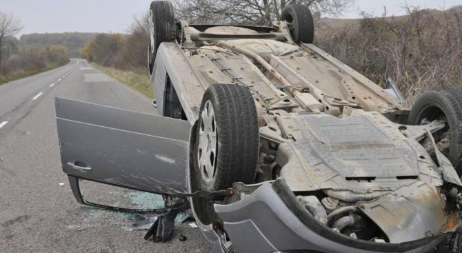 Катастрофа на пътя Русе - Иваново: Има ранен