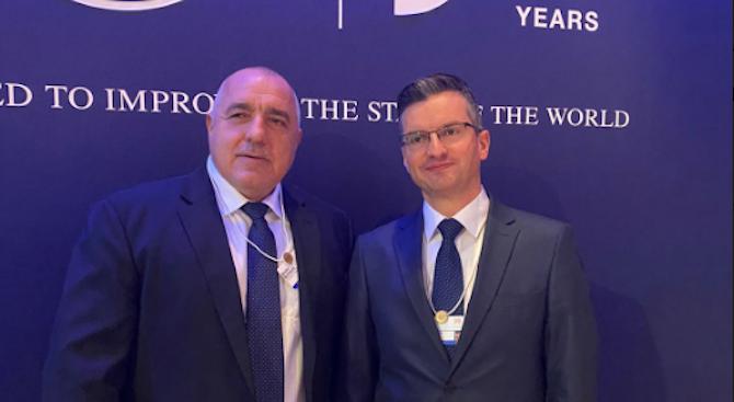 Борисов и Шарец обсъдиха теми от европейския дневен ред