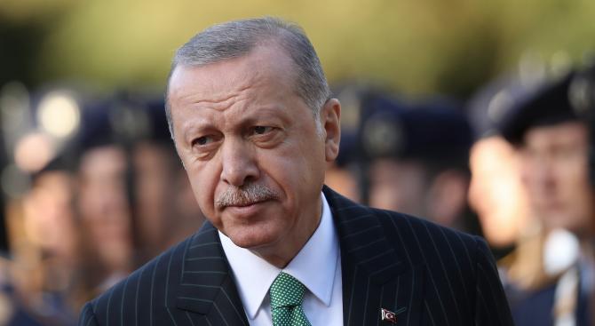 Ердоган отива в Африка