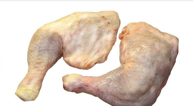 Пак спипаха пратки птиче месо със салмонела