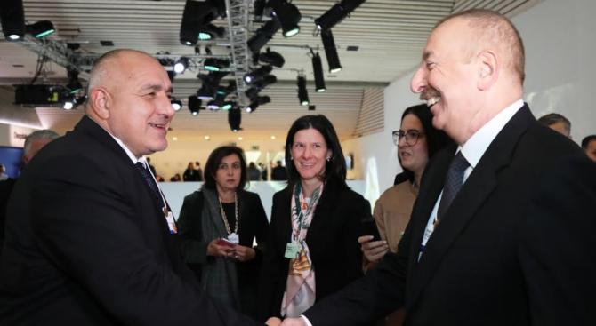 Бойко Борисов проведе среща с президента на Азербайджан Илхам Алиев
