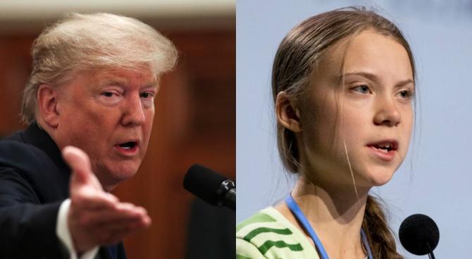 Доналд Тръмп и Грета Тунберг се захапаха в Давос