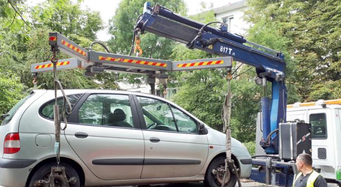 От днес стартира новата СМС услуга за шофьорите, чиито коли са вдигнати