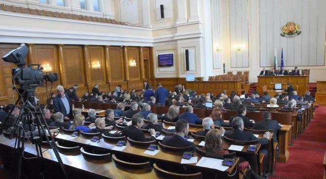 Нов депутат от Обединени патриоти се закле в НС