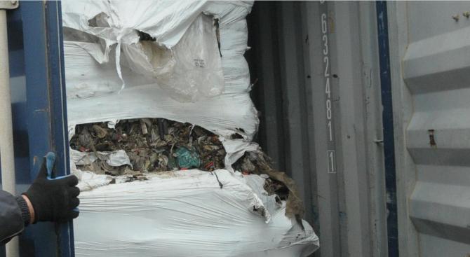 Откриха нелегален италиански боклук в Монтана