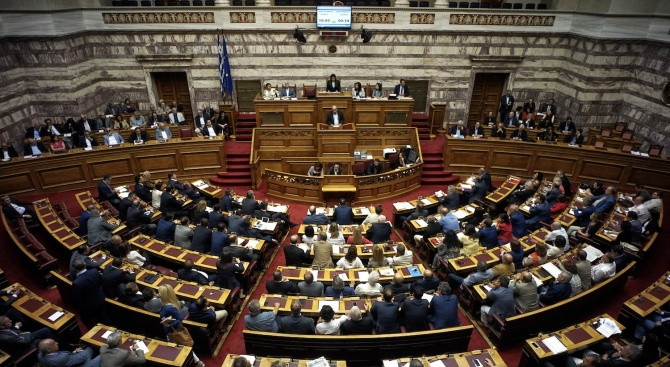За пръв път жена пое Гърция