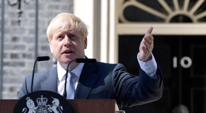 Борис Джонсън: Великобритания прекрачи финалната линия на Брекзит