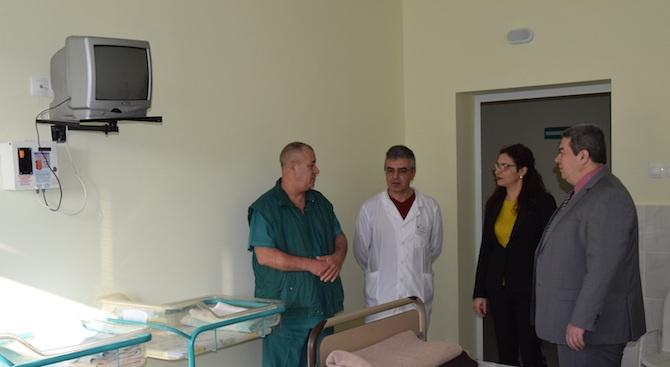 Ремонтираха покрива и гинекологията на болницата в Горна Оряховица
