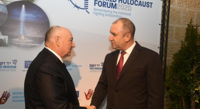 Радев: България не допусна нито един български евреин да бъде изпратен в лагерите на смъртта