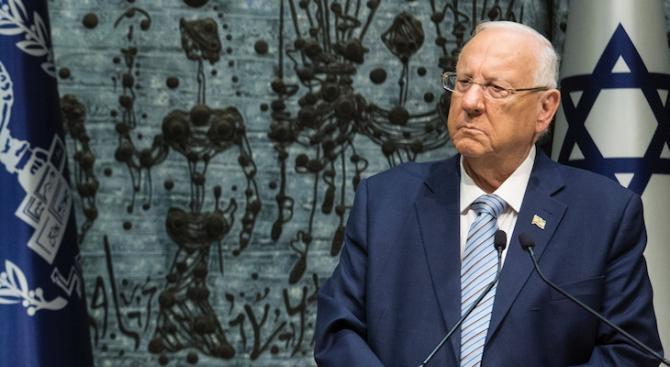 Израелският президент благодари на световните лидери за солидарността им с еврейския народ