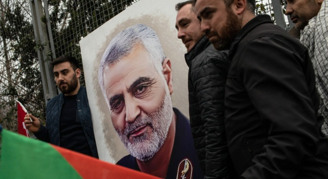 Ирански генерал: САЩ са използвали база в Кувейт за операцията за ликвидирането на Солеймани
