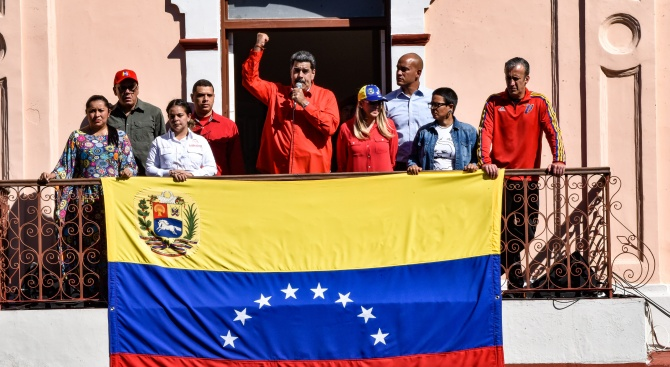 "Мадуро отпразнува ""провала на пучистката авантюра"" на Гуайдо"