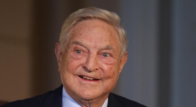 Джордж Сорос: Тръмп е мошеник и краен нарцисист