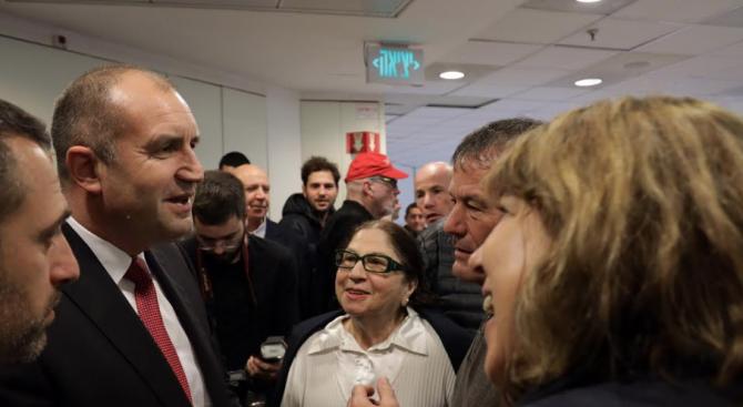 """Румен Радев присъства на премиерата на филма """"Следващото поколение"""" в Тел Авив"""