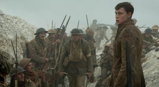 """Номинираният за Оскар """"1917"""" - eдна лична история за войната"""