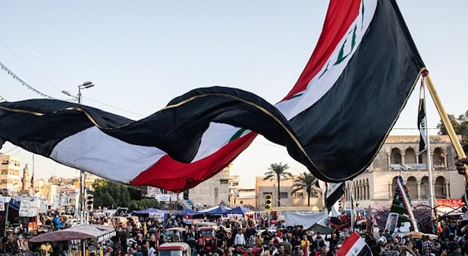 Стотици привърженици на шиитски лидер поискаха изтегляне на американските войски от Ирак