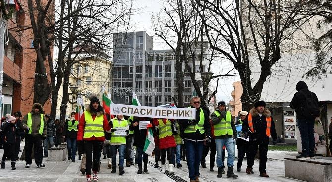 """Протест """"Искаме вода"""" пред Министерски съвет"""