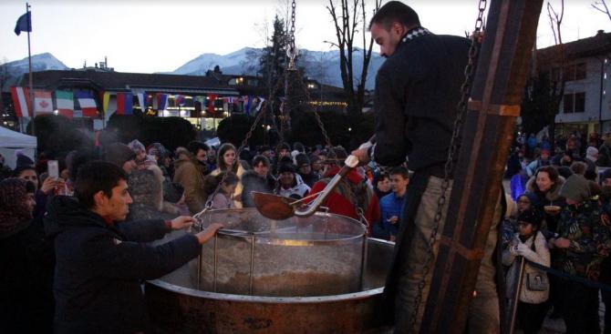 В Банско сготвиха капама за 1000 човека