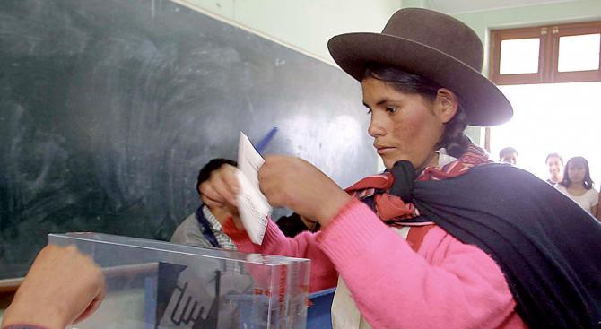 В Перу гласуват на предсрочни парламентарни избори