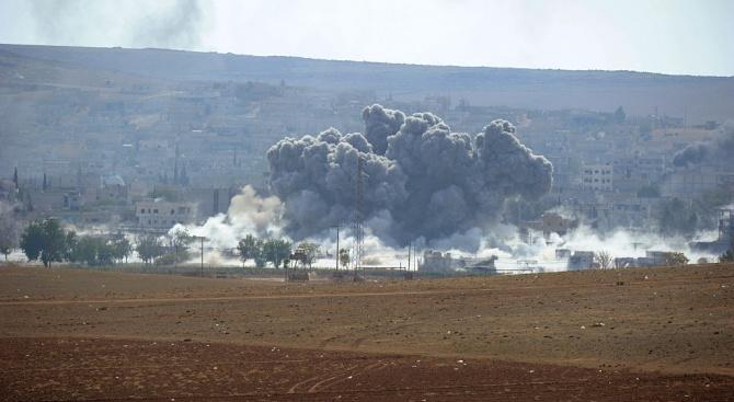 Три ракети паднаха върху посолството на САЩ в Багдад