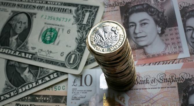 Британското финансово министерство представи вчера монета от 50 пенса, отсечена