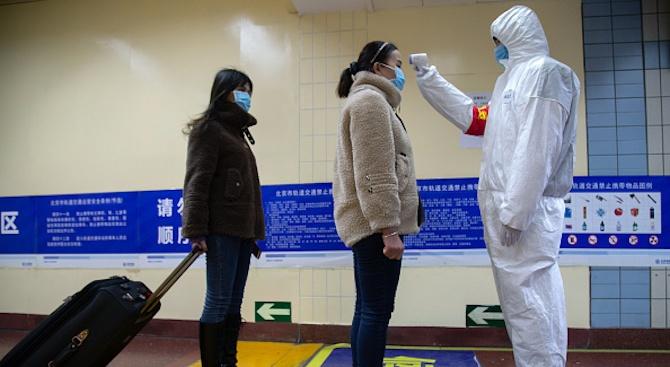 До момента потвърдените случаи на заразени с коронавируса в Китай