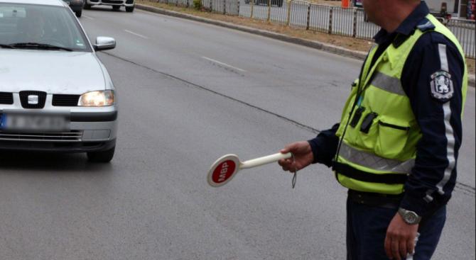 Полицейска гонка в Първомай